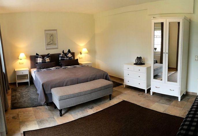 Fewo Ginster: Schlafzimmer