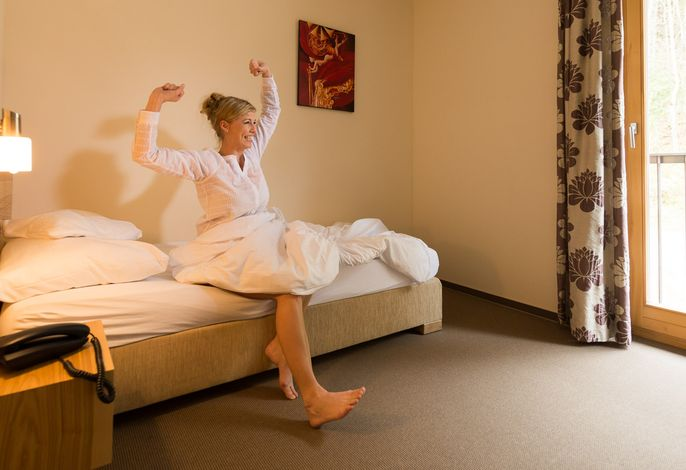 Einzelzimmer Thula Wellnesshotel Bayerischer Wald