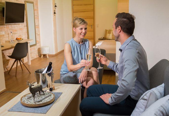 Wald-Wellness-Suite im Thula Wellnesshotel Bayerischer Wald