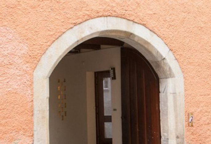 Eingangsbereich zum Aufhauser Hof