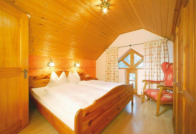 Schlafzimmer in den Maisonettewohnungen