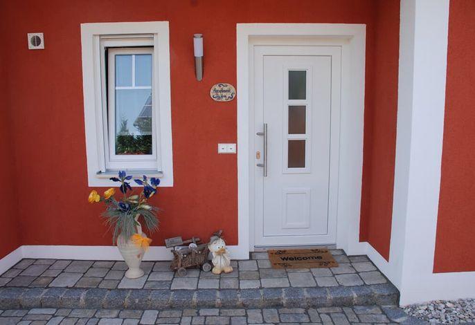 Eingang kleines Appartement