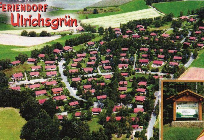 Luftaufnahme Feriendorf Ulrichsgrün
