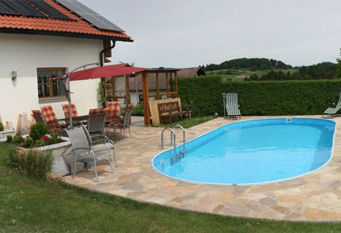 Pool, Ferienwohnung Tahedl