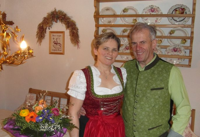 Ihre Gastgeber Agnes und Schore