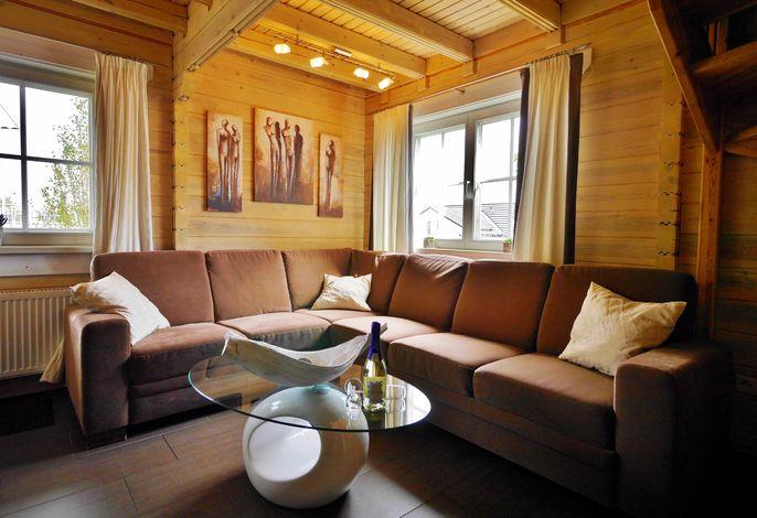 FerienBlockhaus - Wohnbereich