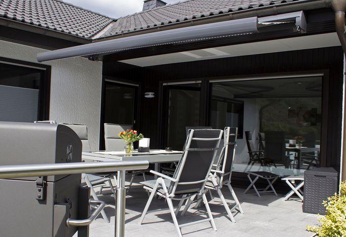 Ferienhaus am Rarbach - Terrasse