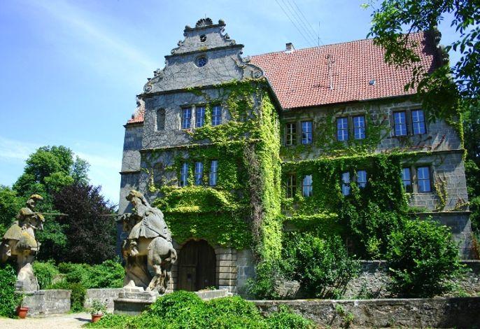 Schloss Friesenhausen in den Haßbergen