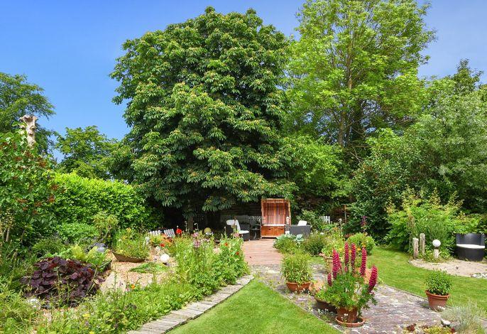 Wohlfühlmomente im Garten