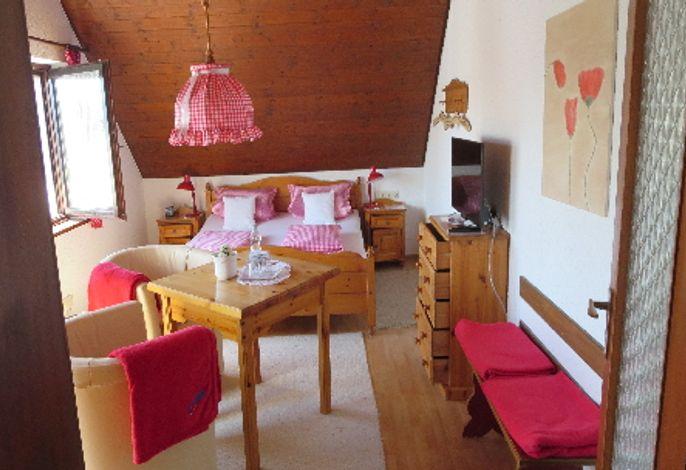 Schlafbereich, Gästehaus Deggelmann, Zimmer 1