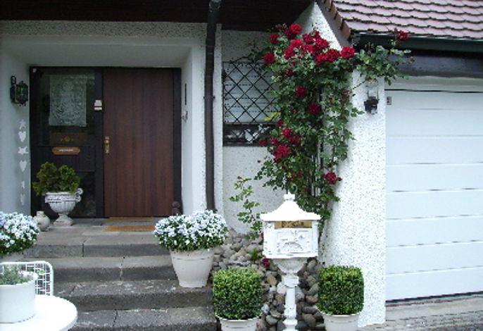 Eingangsbereich, Gästehaus Deggelmann, Radolfzell