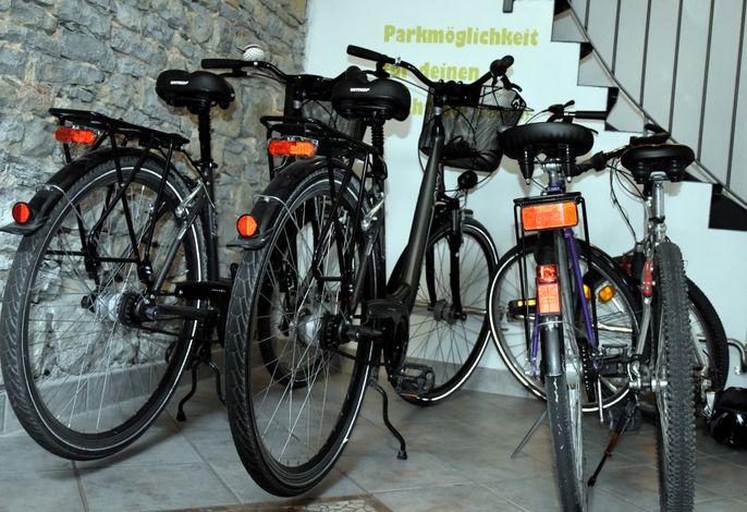 Fahrräder vom Ferienhaus
