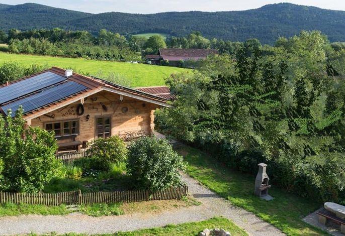Chalet Holzblockhaus