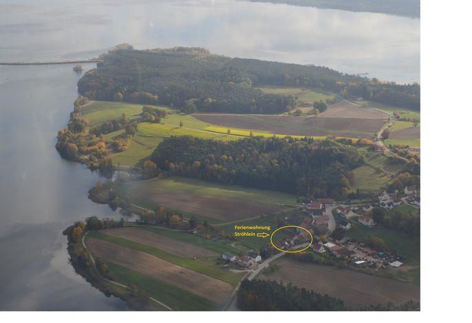Unser Anwesen Ferienwohnung Ströhlein 2 Gehminuten zum Igelsbachsee