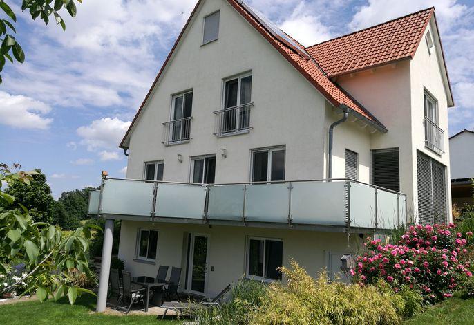 Ferienwohnung Stahl, Bergstr. 23 - Blick von Südwest