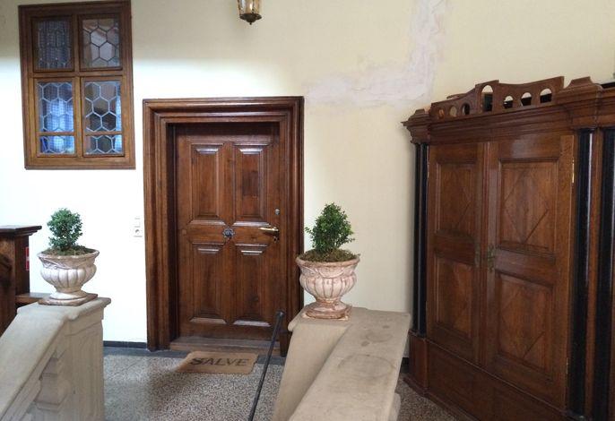Eingang Ferienwohnung Palais-Volkach