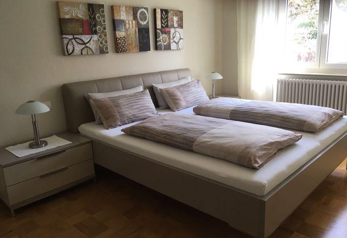 Schlafzimmer, Ferienwohnung Hohenegg 1, Konstanz