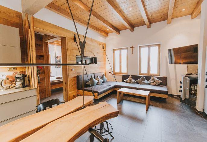 Luxus-Chalet Wohnraum