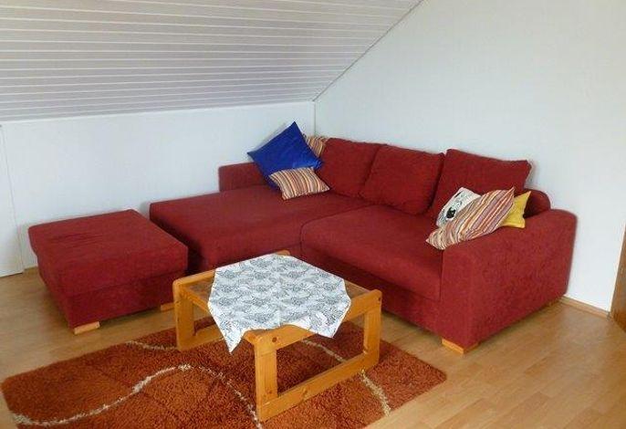 Wohnzimmer, Ferienwohnung Hukle, Uhldingen-Mühlhofen