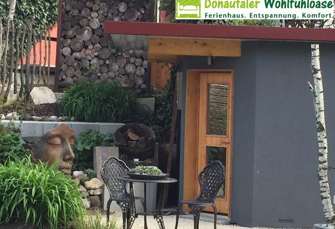 Donautaler Wohlfühloase - Sauna im Garten