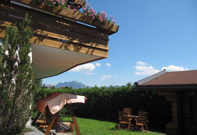 Panoramablick Garten