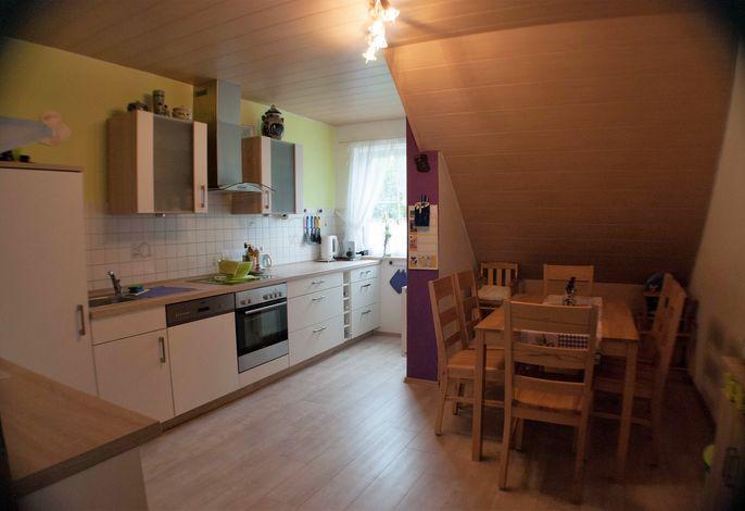 Küche ca 14 qm groß mit allem Ausgestattet was man brauch