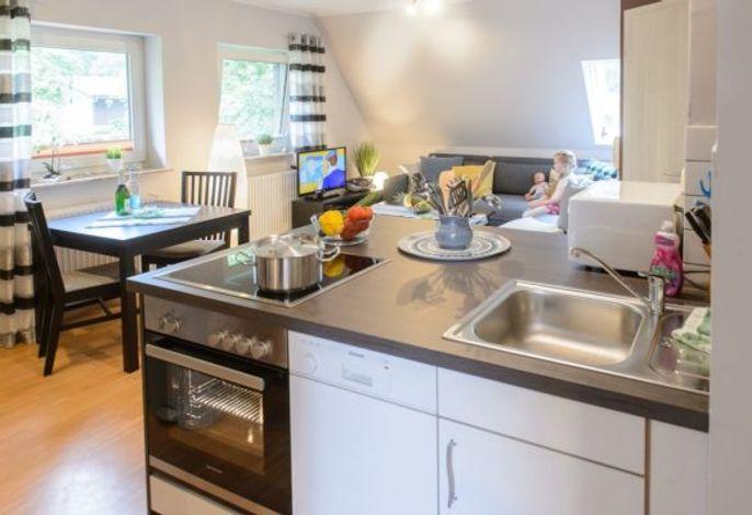 Wohnbreich mit Küche