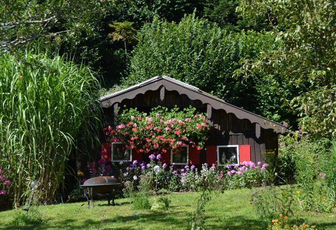 Unser Gartenhäuschen