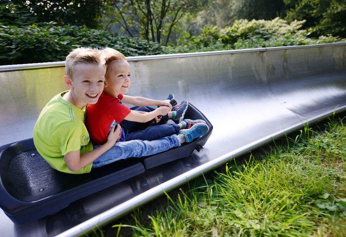 Sommerrrodelbahn im Spielpark Wingst