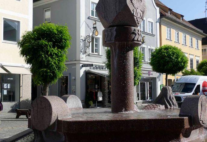 Guntia-Brunnen am Marktplatz