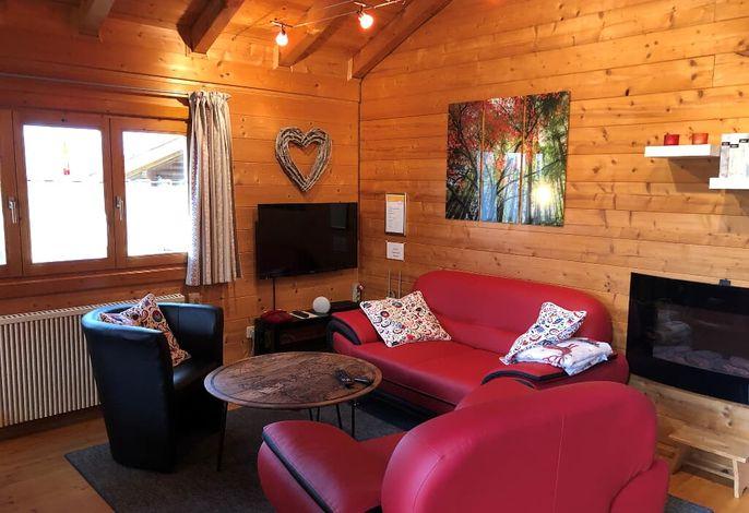 Couchbereich Hütte 24