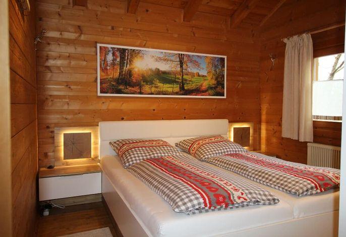 Schlafzimmer Hütte 24