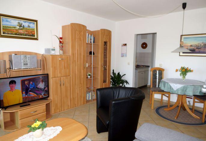 2-Zi-Appartement Wohnbereich