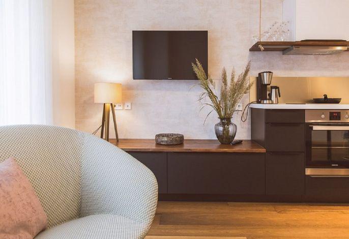 Ferienwohnung - Wohnzimmerbeispiel