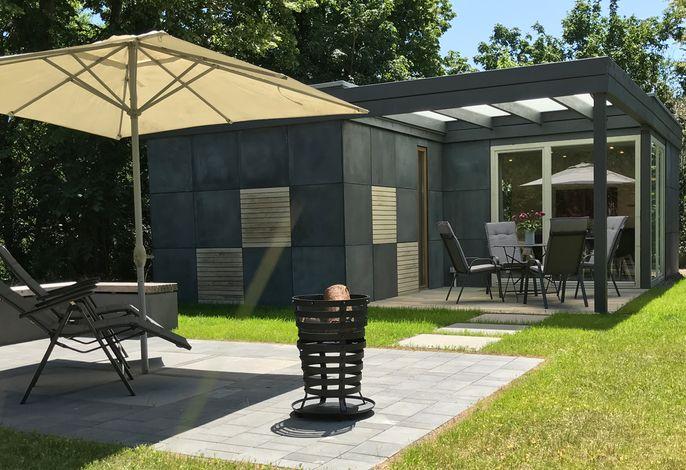 Cube House - Ferienhaus in Franken, Außenbereich