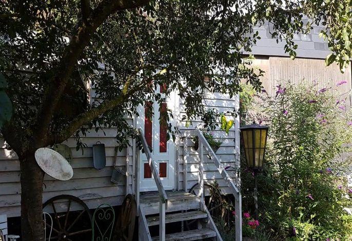 Schäferwagen im Garten