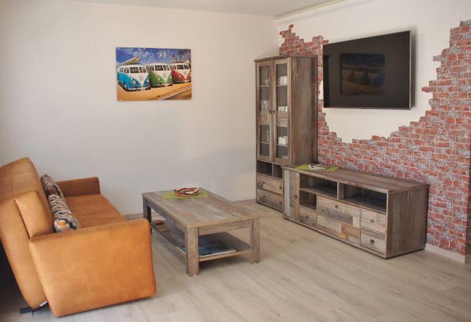 Ferienwohnung Jurastein - Wohnzimmer