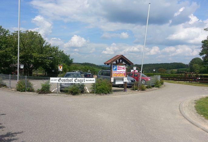 Gasthof Engel Steinbach - Parkplatz ca. 50m entfernt