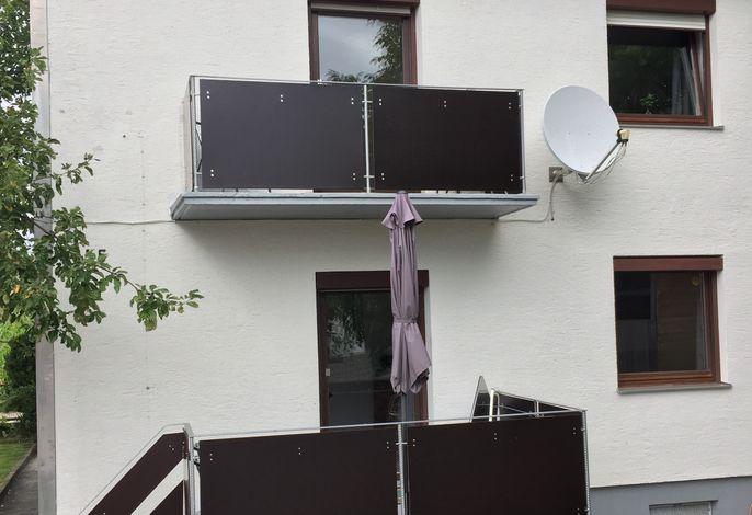 Außenbereich Terasse+Balkon