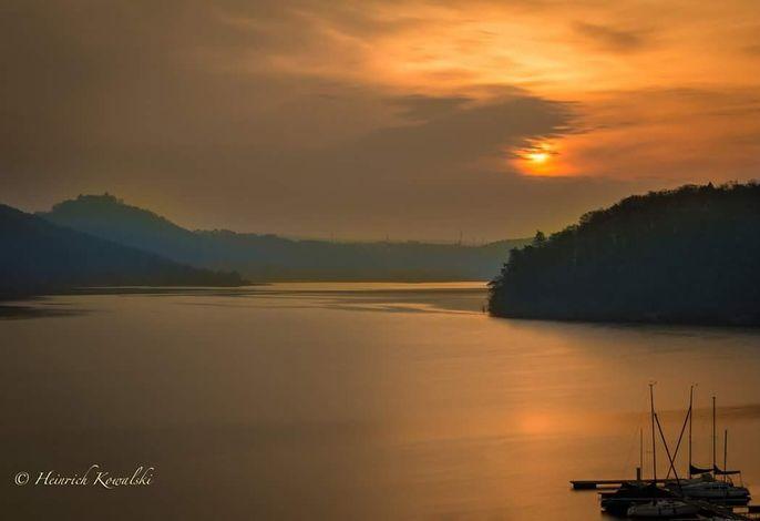 Edersee Sonnenuntergang