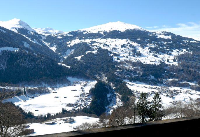 Aussicht vom Balkon aus Richtung Glattwang