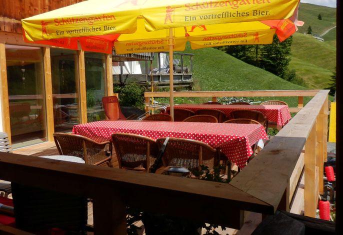 Michelshof Sommer Terrasse