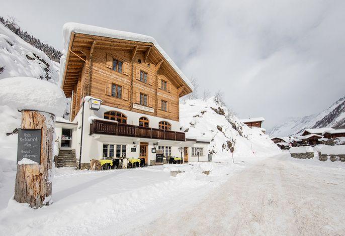 Hotel Breithorn im Winter