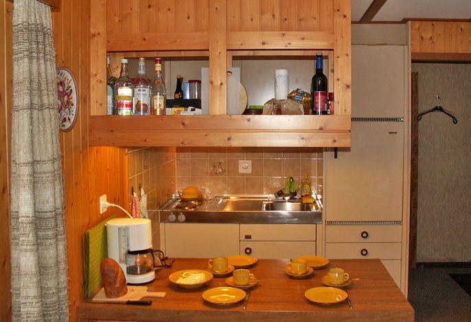 Wohnküche Ferienhaus Trockli