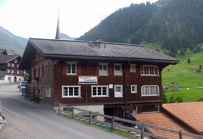 Berggasthaus Alpenrösli St. Antönien