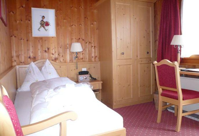 Einzelzimmer im Chalet Rosina