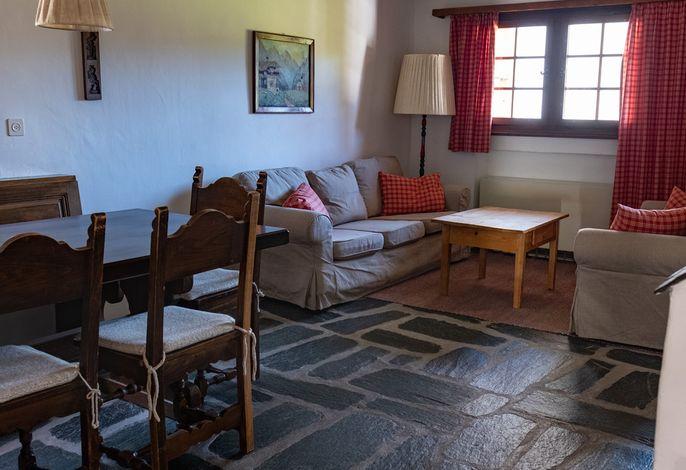 Wohnzimmer und Esseck