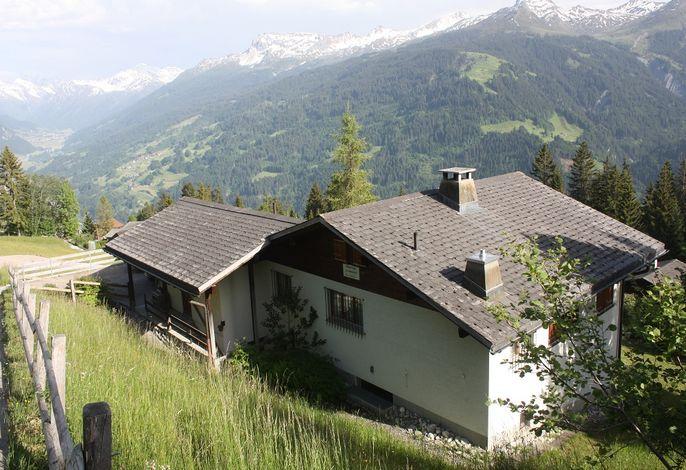 Ferienhaus Underem Ried hoch über Pany