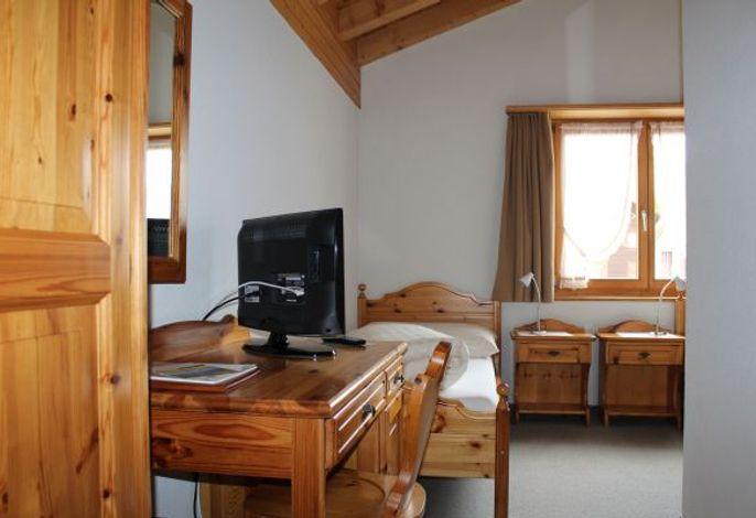 Hotel Péz Regina Lumbrein Bsp. Einzelzimmer