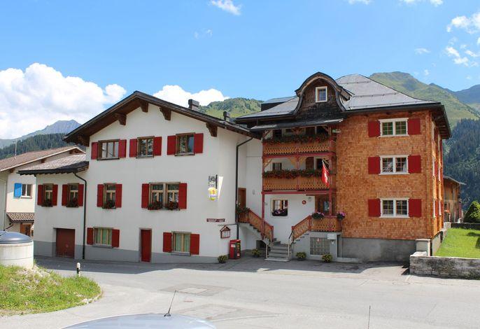 Hotel Pèz Regina Lumbrein Nordseite